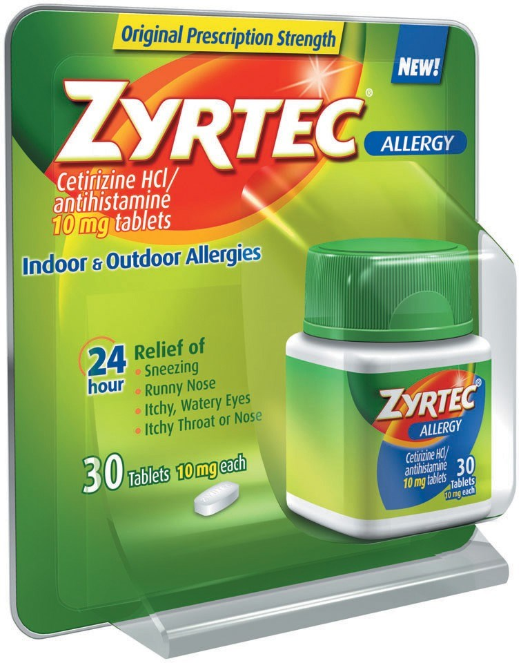 Most Zyrtec users didn't switch to OTC