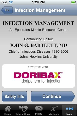 Epocrates mobile app adds disease areas