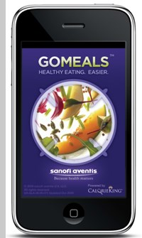 Managing diabetes, counting carbs? There's an app for that, says Sanofi-Aventis