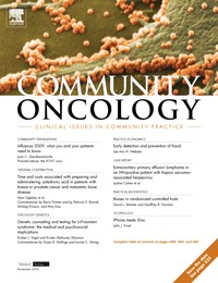Ad sales declines were prevalent across many oncology journals in 2009, including Community Oncology