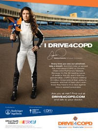 Boehringer COPD awareness effort targets NASCAR fans