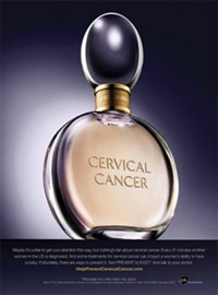 GSK launches surprising cervical cancer ads