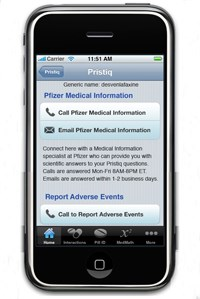 Pfizer, AZ let clinicians query medical affairs staff via mobile phone