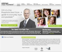 Amgen, Pfizer and Project Runway's Tim Gunn offer psoriasis style tips