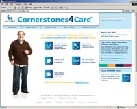 Novo Nordisk refreshes diabetes online presence with Cornerstones4Care
