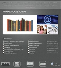 Media Choice: Primary Care Portal