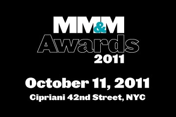 MM&M Awards 2011 sponsorship opportunities