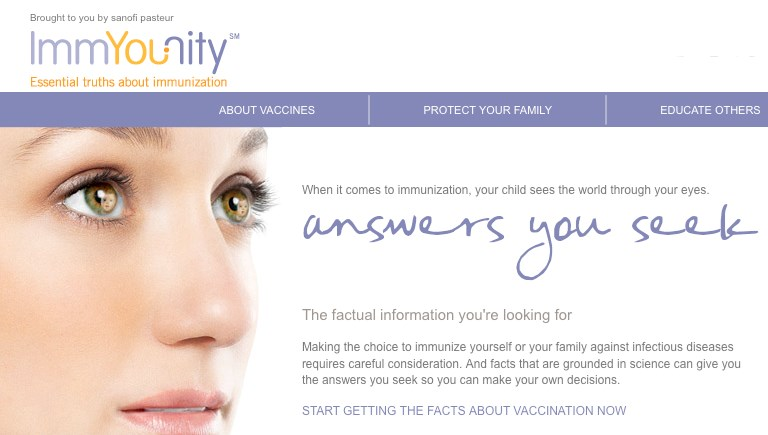 Sanofi education campaign aims to combat kid vax fears