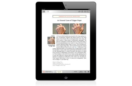 NEJM launches iPad app, partners with Wolters Kluwer