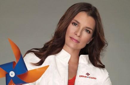 Drive4COPD celebrity spokesperson Danica Patrick
