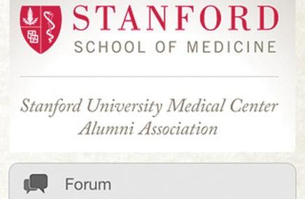 Stanford Med gets app for its alums