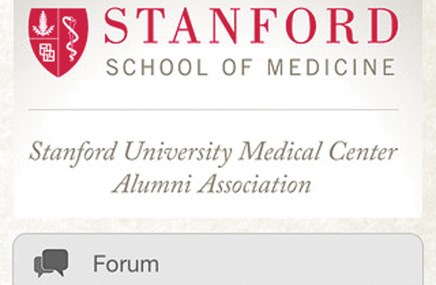 Stanford Med gets app for its alums