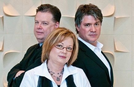 From left: Kevin Dunn, Anne Stroup, Anthony Rotolo