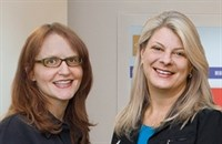 Dina Peck (managing partner and creative chief), Deb Deaver (president)