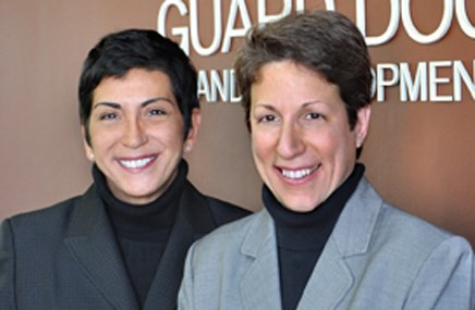 Co-presidents and managing partners ­Maria Casini and ­Camille DeSantis