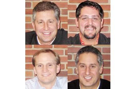 Bruce Epstein, Brian Wheeler, Bruce Medd, George Courides