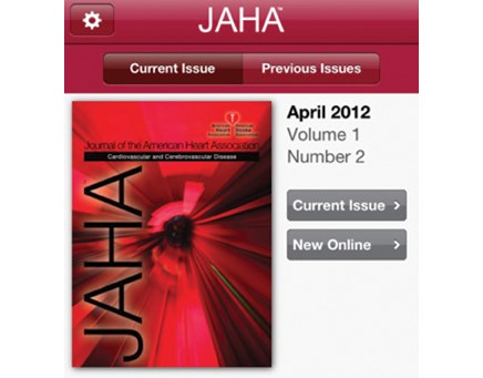 American Heart Association publications all go mobile