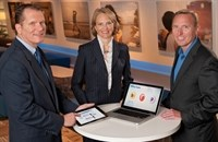 Novo Nordisk's Bob Muha, Amy West and Martin Jernigan