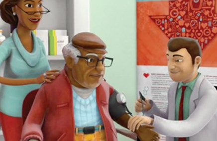 A Team Up Pressure Down video targets pharmacists