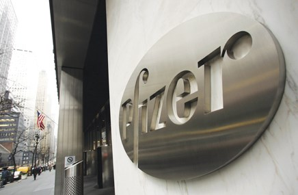 Pfizer posts weak Q1 sales, stands by AZ offer