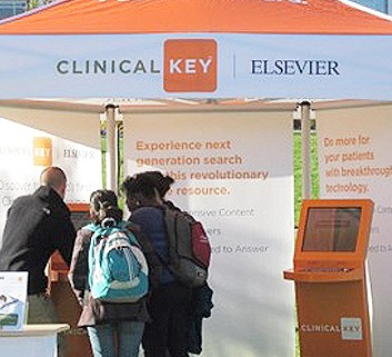 Elsevier samples experiential marketing
