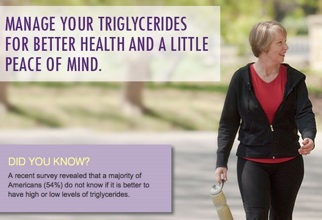 Amarin launches unbranded triglyceride info site
