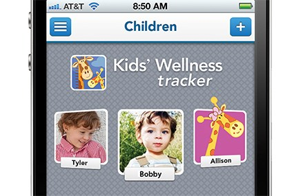 DiD work for the Tylenol Kids' Wellness Tracker App