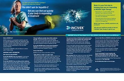 An ad for Vertex's Incivek