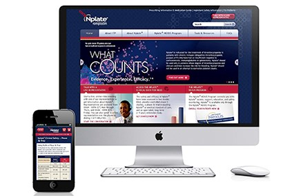 Havas Life Metro's web and mobile work for Nplate