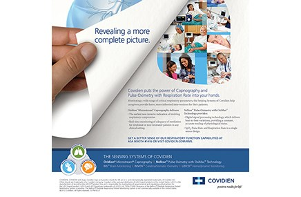 This ad promotes the Sensing Systems of Covidien