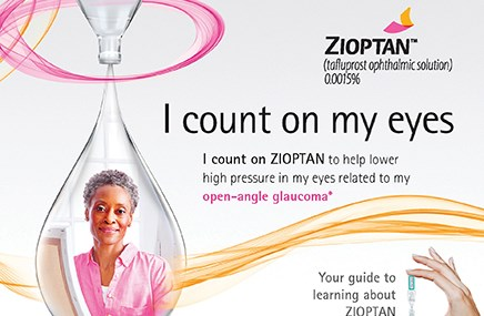 HealthEd Group's work for Merck's Zioptan