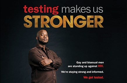 Messaging on HIV goes communal