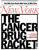 New York Magazine examines cancer drug pricing