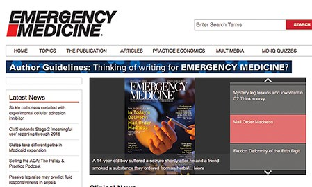 Frontline hits the refresh button on Emergency Medicine