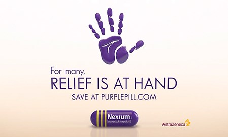 Nexium doesn't merit a hand for its tired new Nexium ads