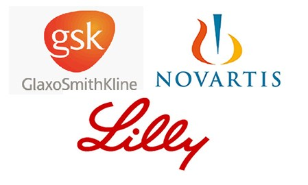 GSK, Novartis, Lilly play musical chairs