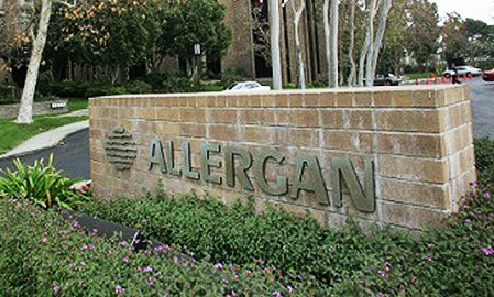 Allergan updates pipeline