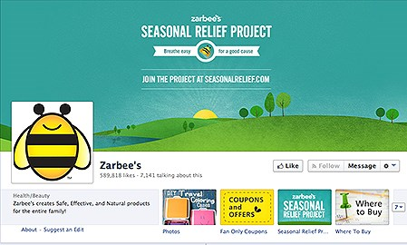 """Likes"" put Zarbee's in FDA crosshairs"