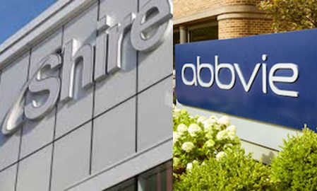 Shire, AbbVie join forces for $55B