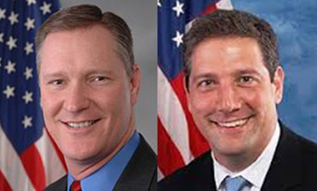 From left: Rep. Steve Stivers (R-OH) and Rep. Tim Ryan (D-OH)