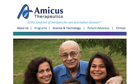 Amicus seeks to upset Fabry market