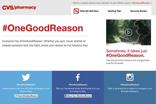 #OneGoodReason