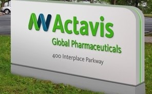 Actavis and Allergan will merge in a deal worth ~$66 billion.
