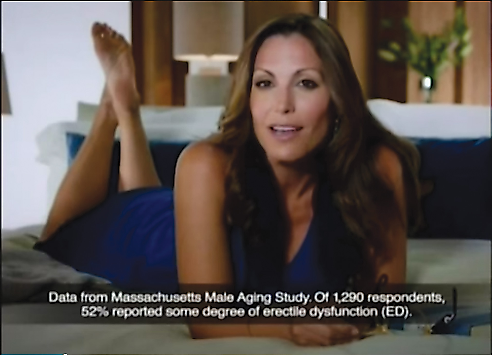 Actress in viagra commercial