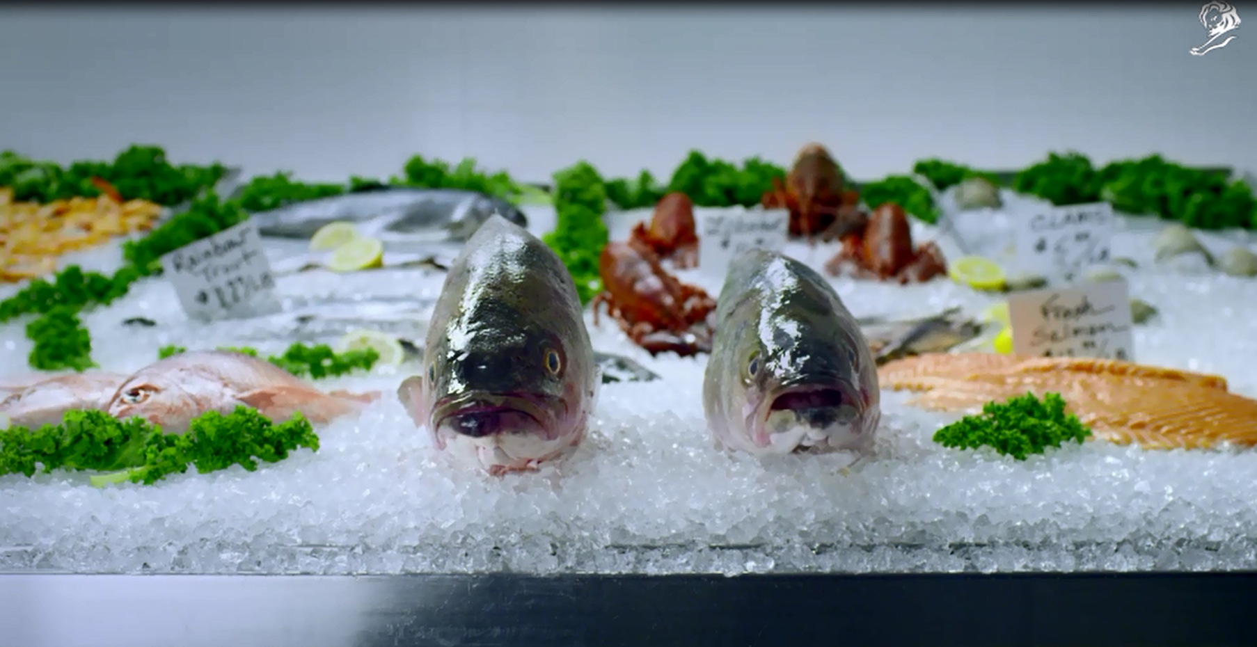 "AstraZeneca's ""Take it from a Fish"" won a Grand Prix."