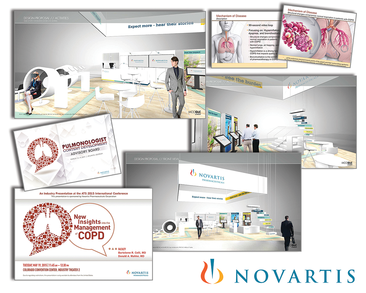 ApotheCom's multifaceted educational platform for Novartis is a classic example and tied to an annual congress