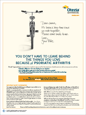 Evoke Health's creative team worked on psoriatic arthritis for Celgene's Otezla