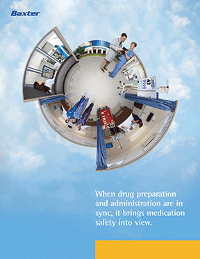An integrated medication safety solutions aid for Baxter International