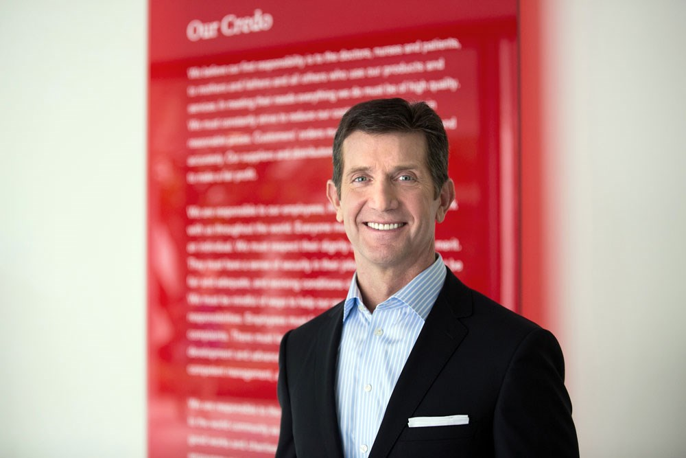 J&J CEO Alex Gorsky