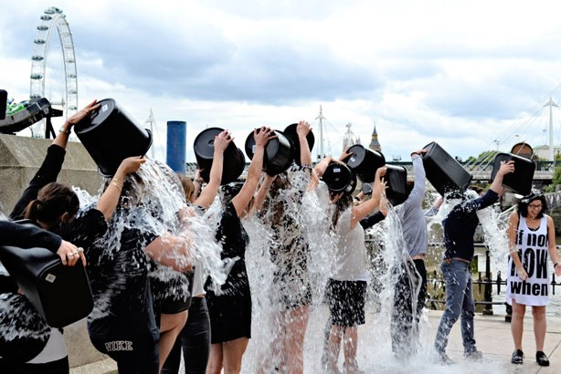 The ALS raised $115 million from the Ice Bucket Challenge.
